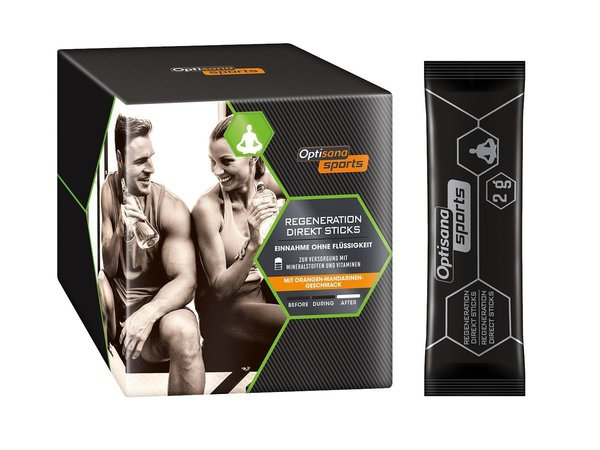 (G) Optisana Sports Regeneration Direkt Sticks Sport Fitness Neu