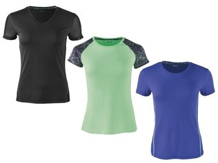 Crivit Damen Shirt Fitness Sportshirt Wellness Top Sport Funktionstop